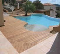 Ipe teck plancher piscines plancher bois parquet bois for Plancher teck exterieur